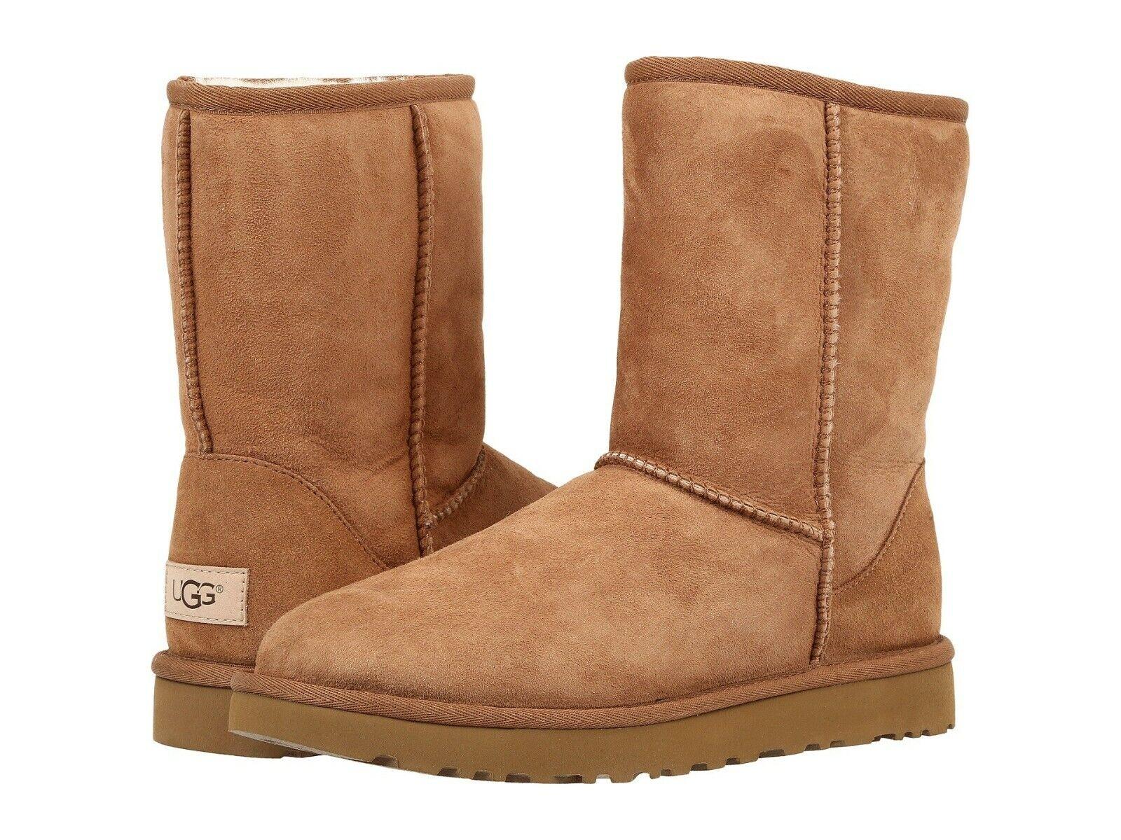 Women's Shoes UGG CLASSIC SHORT II Mid-Calf Boots 1016223 CH