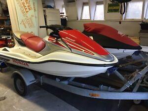 Honda Aquatrax F12 pair