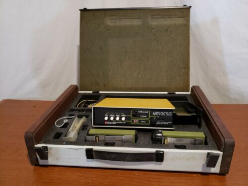 Vintage GenRad 1944 Noise Exposure Monitor & Calibrator w/ Accessories and Case