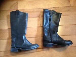 Girls size 11 rider boots-great for Frozen Anna costume!!