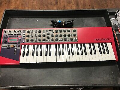 Clavia Nord Lead 3 49-Key 24-Voice Keyboard Synthesizer - Used Condition - CV852