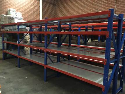 45KG! 600kg 2W*2H*.6mD GARAGE WAREHOUSE STORAGE STELL SHELVES