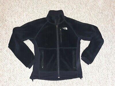 The North Face Summit Series Black Poly Blend Fleece Lining Full Zip Jacket Sz M