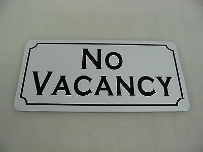 Vintage Style Retro NO VACANCY Metal Sign 4 Highway Hotel Motel Inn B&B Hostel