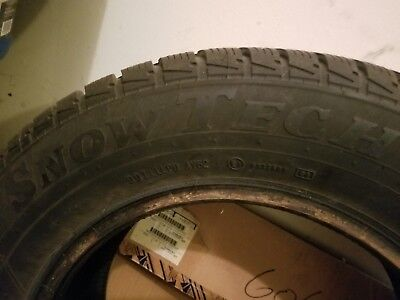 Slightly Used SnowTech Snow Tires X 4 (205/65) Size 15 For Sale