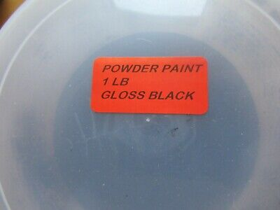 16 Oz Gloss Black Powder Coat Paint 1 Lb Usa Made Free Shipping Best Bulk Price