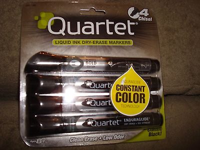 Quartet Liquid Ink Dry-erase Black Markers Lot Of 2