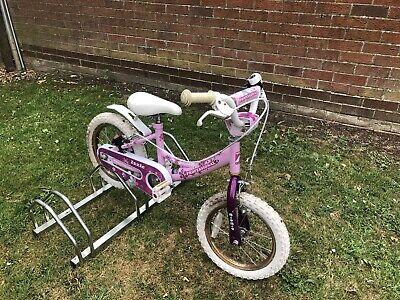 Izzie Professional 16 Inch Wheels Girls Pink Bike