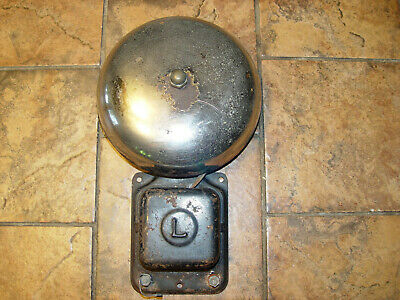 Vintage Fire Station Or Ship Alarm Bell - Pretty Neat