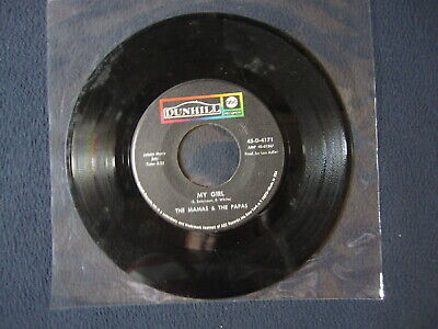 The Mamas and The Papas - My Girl/Do You Wanna Dance [45 RPM