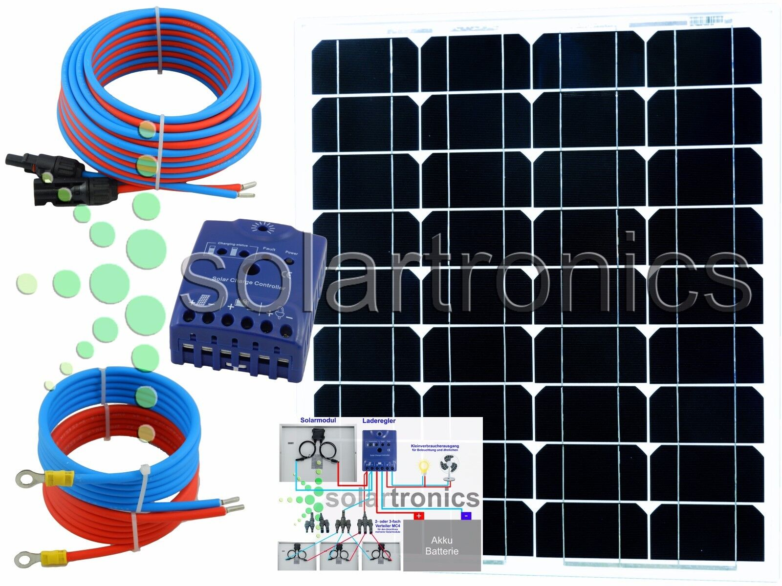 Solaranlage Gartenhaus 220v Interesting Kit Solaire Wh V With