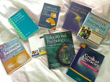 Textbooks from teaching degree Aspley Brisbane North East Preview