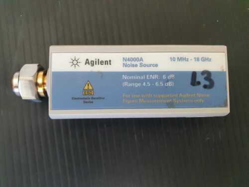 Agilent N4000A SNS Series Noise Source 10 MHz to 18 GHz (ENR 6 dB)