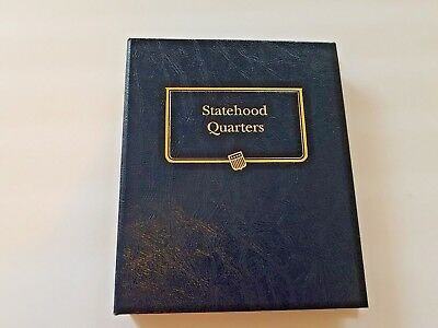 (Whitman Classic Album Statehood Quarters Complete Set 1999-2008 9176 P&D)