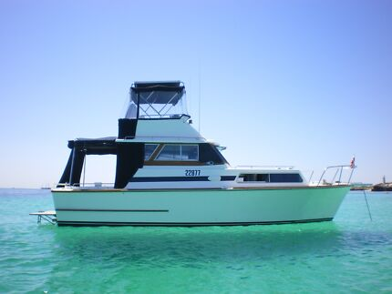 Chivers 32 Cabin Cruiser Applecross Melville Area Preview