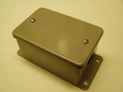 Appleton Sealed Metal Screw Cover Box Enclosure Single Device Hoffman A402dsc