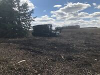 mulching services / land clearing logging cleanup fire breaks