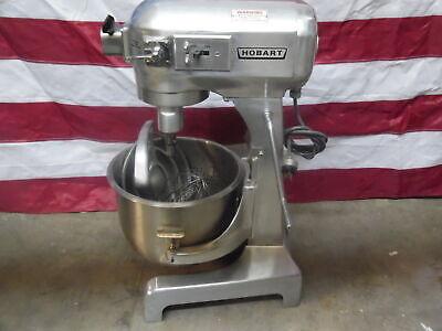 Hobart A200 20 Qt Dough Bakery Pizza Mixer Runs Great