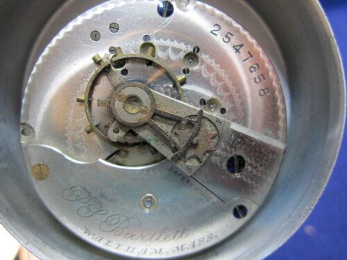 18s Waltham LS HC pocket watch movement