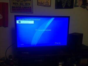 "30""1080p flatscreen TV"