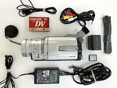 Canon Optura Xi MiniDv Mini Dv Camcorder for PLAYER or VIDEO TRANSFER