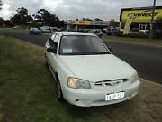 2000 Hyundai Accent Hatchback   NEED FINANCE? Wangara Wanneroo Area Preview