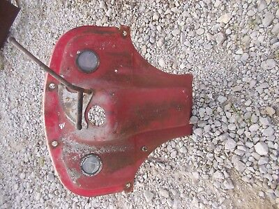 Ford 8n Tractor Dash Assembly W Gauges Throttle Lever