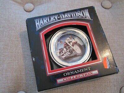 VTG 1999 HARLEY DAVIDSON FATBOY ORNAMENT CAVANAGH CHRISTMAS TREE MOTORCYCLE  ()