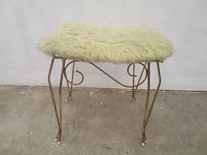 C51008 Vintage RETRO Vanity Dressing Table Stool Seat Unley Unley Area Preview