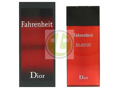 Dior Gel Duschgel (Dior Fahrenheit Shower Gel 200ml MEN Duschgel)