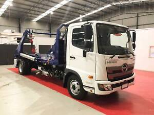 2019 Hino FC 1124 AT Leaf Skip Bin Lifter H01787 Breakwater Geelong City Preview