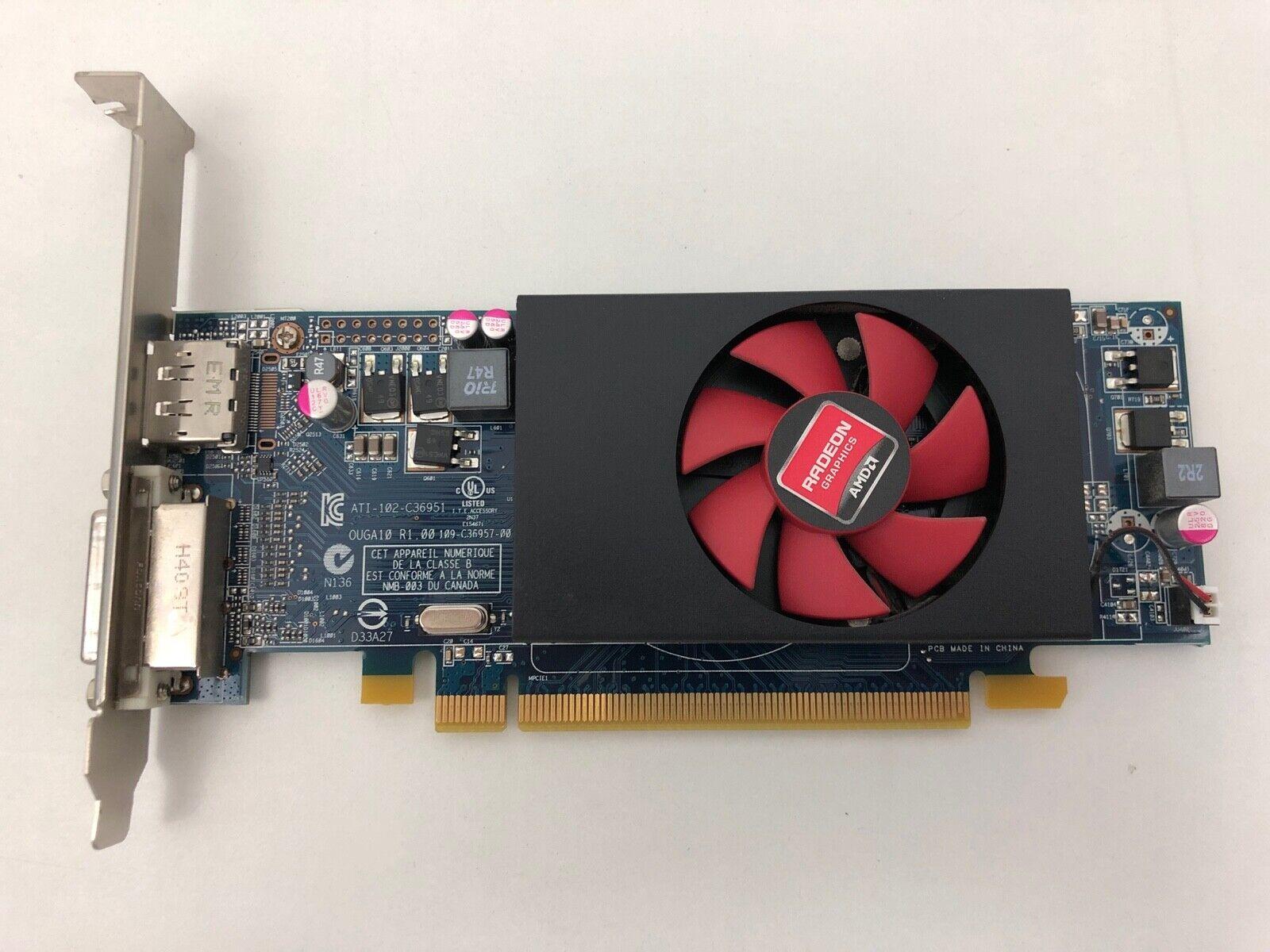 AMD Radeon HD 8490  - 1GB  DVI- DisplayPort - TOP Grafikkarte C553 - 07W12P
