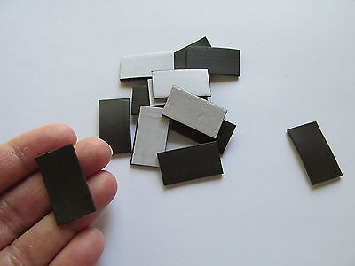 72 Self-adhesive Magnets Rectangle Strips Teacher School Supplies Craft Crafts