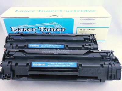 Toner Cartridge for HP LaserJet M1522N M1522NF M1120 P1505N 1505 CB436A 436A 2pK ()