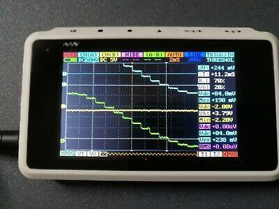 Ds203 Handheld 4-channel Digital Oscilloscope Usb Interface 8mhz 72msas