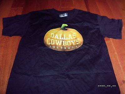 Dallas Cowboys Halloween pumpkin shirt Rare youth Medium 10-12 M EXCELLENT NFL](Halloween Dallas)