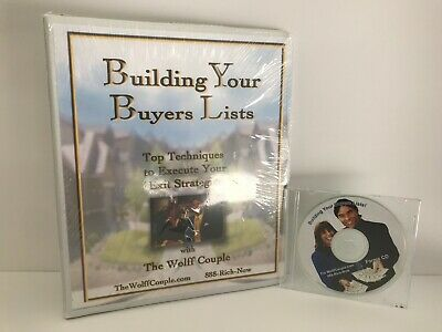WHAT TO SAY SYSTEM -  BUILDING YOUR BUYER LISTS BYTHE WOLFF COUPLE & RON LEGRAND