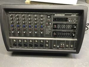 Samson XM410 400W PA system w/ Wharfedale Pro Spkrs and Stands