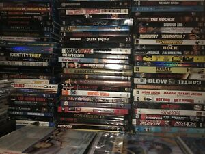 Tons of Blueray DVDs