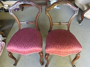 4 antique dining chairs Aldgate Adelaide Hills Preview