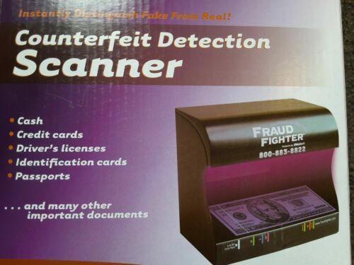 Fraud Fighter UVeritech UV-16 Ultraviolet Counterfeit Detection Scanner Money