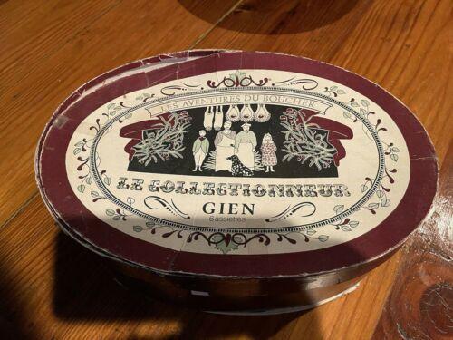 RARE Vintage Set Of 5 Gien Platters 11 3/4 X 8 1/2, Never Used
