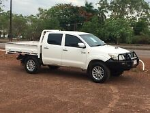 2012 Toyota Hilux Ute 4X4 all extra low Km's Howard Springs Litchfield Area Preview