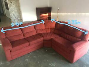 Corner Lounge Suit with Ottoman - PRICE REDUCED