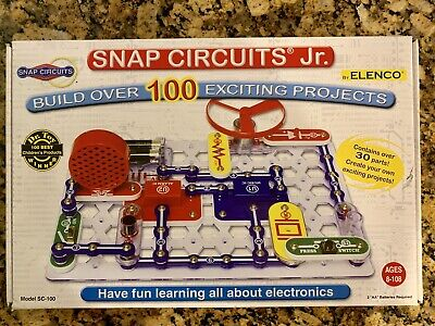 ELENCO Snap Circuits Jr. Electronic Kit Dr. Toy Best Children's Toy Winner