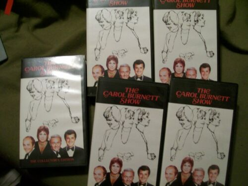 The Carol Burnett Show 5 Volume VHS Set