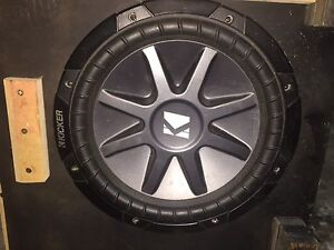 """Kicker 12"""" sub, amp and boxes. *Price Reduced*"""