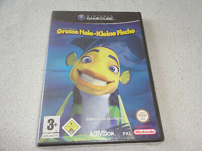 Grosse Haie - kleine Fische Nintendo Gamecube Spiel neu new sealed (Spiel Hai Spiele)