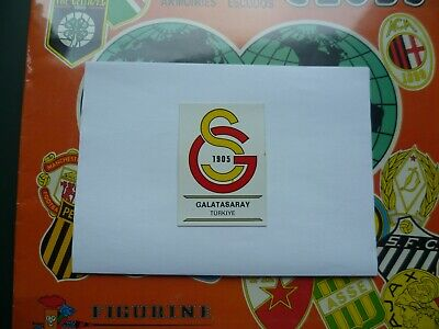 Panini Football Clubs Badges 1975 stickers cards Bilder Galatasaray Turkey # 293
