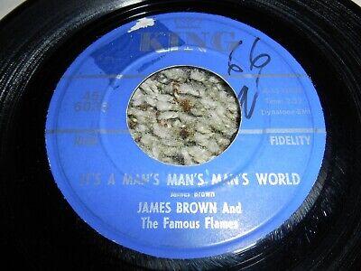 James Brown - Its A Man'S Man'S Man'S World / Is It Yes Or Is It Not SOUL (James Brown Its A Mans Mans World)